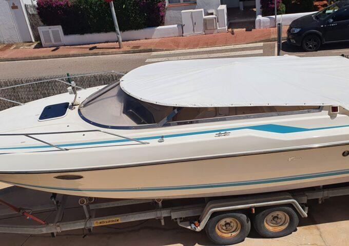 Sunseeker Hawk 27 – 25.000€ only boat 78.500€ boat with mooring